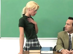 hard test for schoolgirls