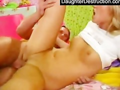 youthful daughter humiliated