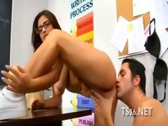 trainer drills his student