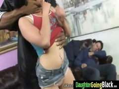 watchung my daughter getting drilled by black