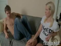 beautiful legal age teenager meets a wang