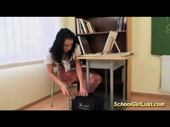 hardcore with wicked schoolgirl