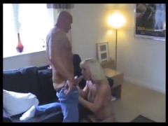sexy muscle dad receives bj from a favourable