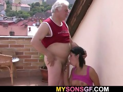 cute angel cheats with her bfs old dad