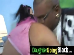 college slut daughter gangbanged by a dark knob 4