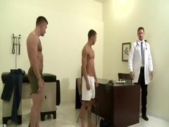 doctor fucks daddy and son