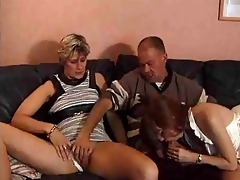 married pair trick younger hottie into having a