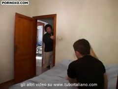 blond italian legal age teenager daughter and