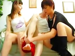 joy ! russian cumshots swallow