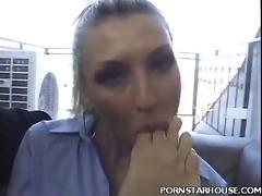 porn star nice-looking foot fetish tease