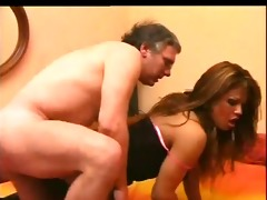 italian hot daddy fucking with transsexual -