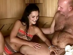 sandra rodriguez receives drilled by old man
