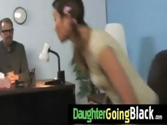 just watching my daughter fucking a darksome rod
