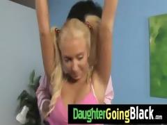my daughter takes a real dark dick 91