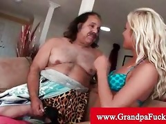 granddad jeremy receives his pounder sucked